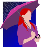 Donna royalty illustrazione gratis