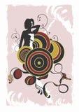 Donna illustrazione vettoriale