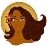 Donna 2 dell'afroamericano Fotografia Stock
