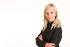 Donna #292 di affari fotografia stock