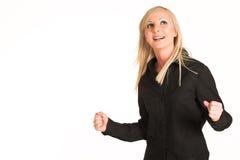 Donna #296 di affari immagini stock libere da diritti