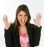 Donna #3 di affari Fotografia Stock Libera da Diritti