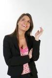 Donna #3 di affari Immagini Stock Libere da Diritti