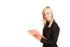 Donna #312 di affari immagini stock libere da diritti