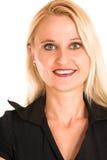 Donna #360 di affari Immagini Stock Libere da Diritti