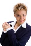 Donna 4 di affari Fotografie Stock Libere da Diritti