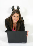 Donna #4 di affari Fotografia Stock Libera da Diritti