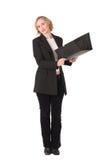 Donna #5 di affari immagine stock