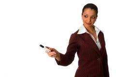 Donna 5 di affari Immagine Stock Libera da Diritti