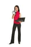 Donna #549 di affari Fotografia Stock