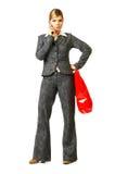 Donna 6 di affari Immagini Stock