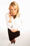 Donna 6 di affari Fotografie Stock