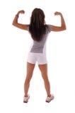 Donna 7 di allenamento Immagini Stock