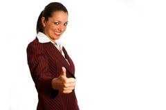 Donna 8 di affari Fotografia Stock Libera da Diritti