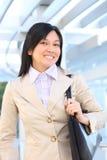 Donna abbastanza asiatica di affari dei giovani Immagine Stock
