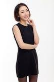 Donna abbastanza asiatica di affari della ONG Fotografia Stock