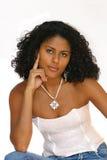 Donna abbastanza brasiliana Immagine Stock