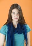 Donna abbastanza giovane immagine stock libera da diritti