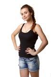 Donna abbastanza giovane fotografia stock libera da diritti