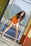 Donna abbastanza giovane Fotografia Stock
