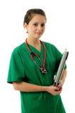 Donna abbastanza medica immagini stock