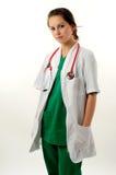 Donna abbastanza medica Immagini Stock Libere da Diritti