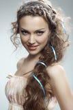 Donna abbastanza russa Immagini Stock