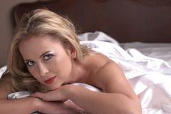 Donna adulta nuda Fotografia Stock