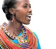 Donna africana Fotografie Stock