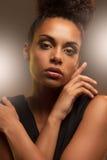 Donna africana affascinante Immagine Stock
