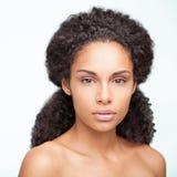 Donna africana sensuale Fotografia Stock