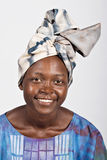 Donna africana tradizionale Fotografie Stock