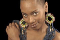 Donna Afro American fotografia stock