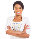 Donna afroamericana Fotografia Stock Libera da Diritti