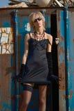 Donna alla moda Fotografie Stock Libere da Diritti