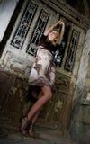 Donna alla moda Fotografia Stock