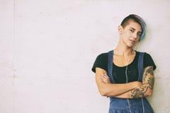 Donna alla moda Fotografie Stock