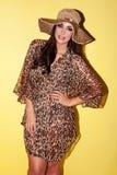 Donna alla moda Stunning Immagine Stock Libera da Diritti