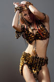 Donna amazzoniana Immagini Stock