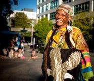 Donna americana indiana indigena Immagini Stock