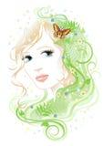 Donna & flora Royalty Illustrazione gratis