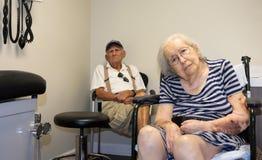 Donna anziana immagini stock libere da diritti