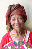 Donna anziana di balinese Fotografia Stock