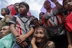 Donna anziana di sorriso Immagine Stock Libera da Diritti