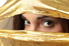 Donna araba fotografie stock libere da diritti