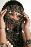 Donna araba/indiana immagine stock
