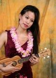 Donna asiatica Fotografia Stock