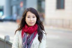 Donna asiatica immagini stock libere da diritti