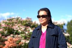 Donna asiatica Immagine Stock