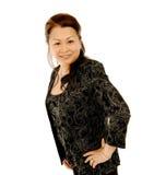 Donna asiatica Fotografie Stock